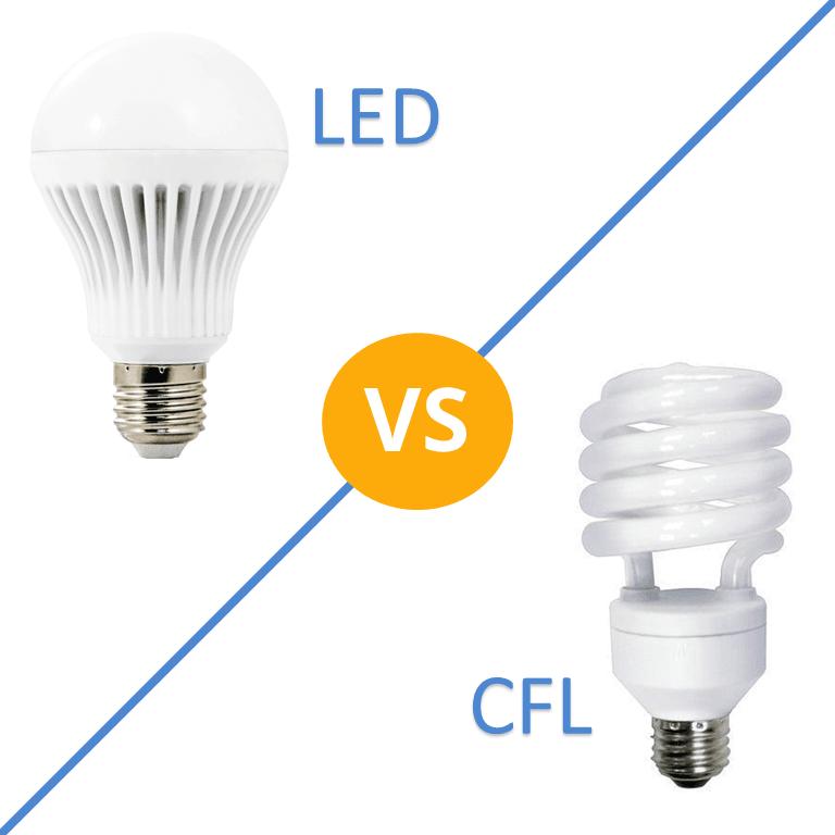 Garage Lighting Fluorescent Vs Led: LEDs Vs CFLs: Making The Right Lighting Decision